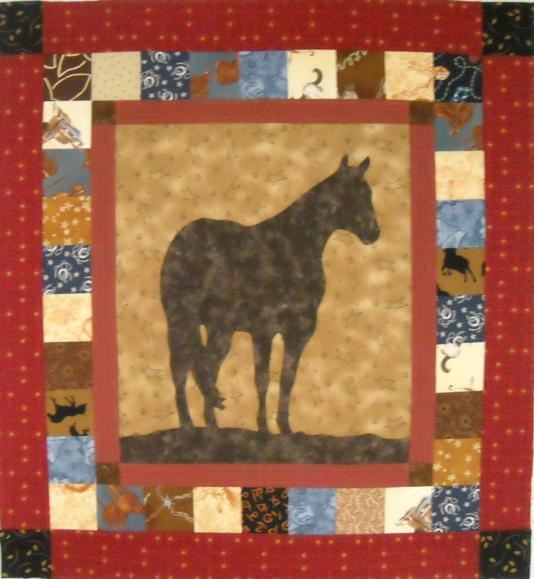 Quilt Patterns With Horses : Out To Pasture Prairie Moon Quilts