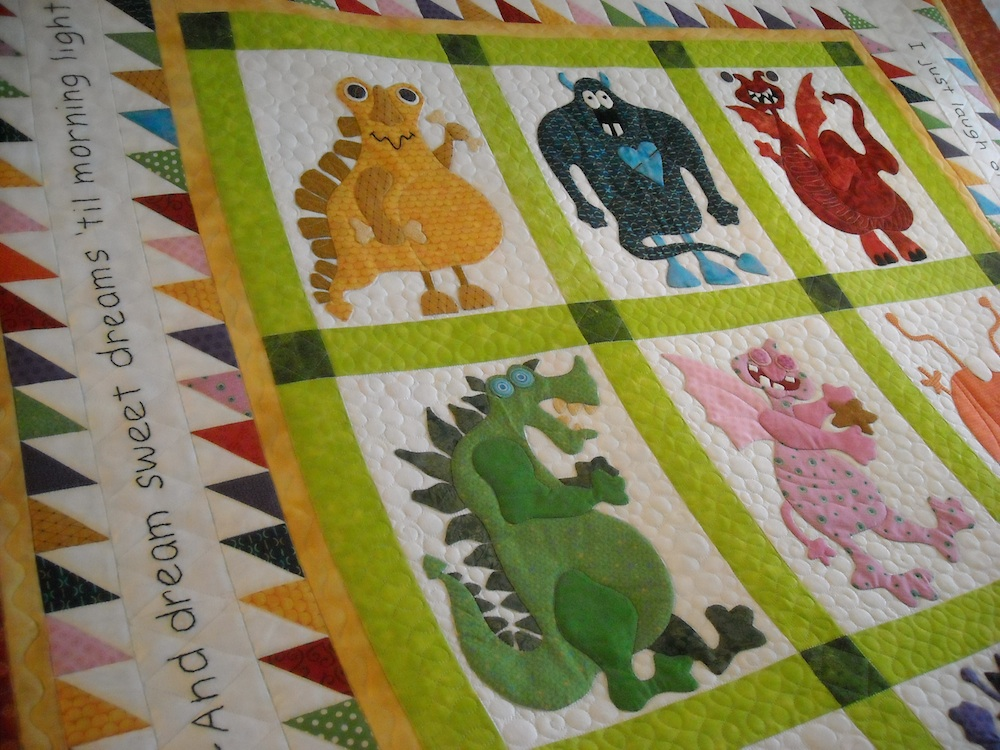 Friendly Monsters Prairie Moon Quilts