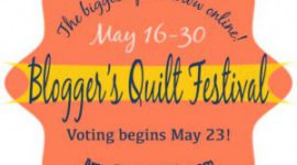 Blogger's Quilt Festival, Spring 2014