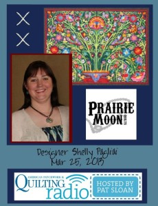 Pat Sloan American Patchwork and Quilting radio Shelly Pagliai guest