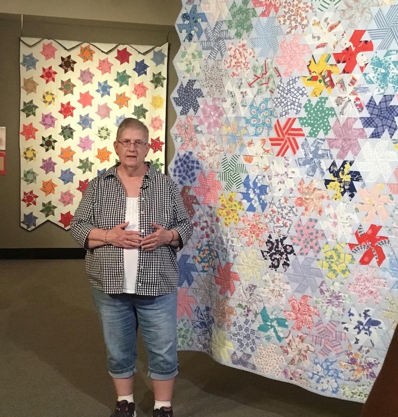 Summer Star Quilt Pattern Pieced KC