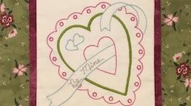 Valentine Stitchery