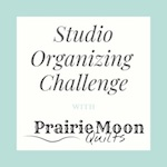 July Studio Organizing Challenge